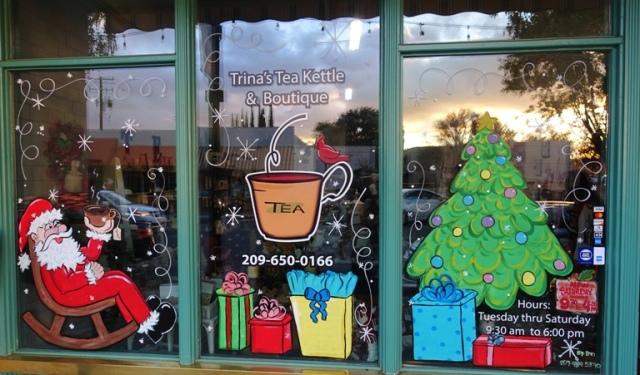 Trina's Tea Kettle, Tracy, California, Downtown, Small Business Saturday