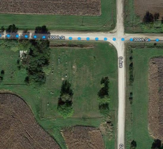 Cemetery, Northboro, Iowa, Coin, Iowa, Van Duzor Cemetery