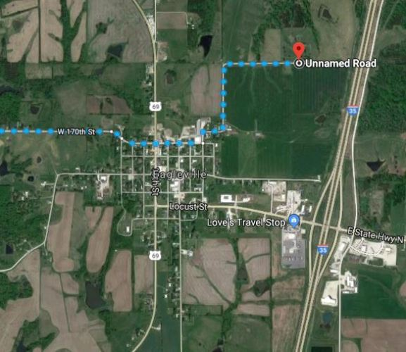 Eagleville, Missouri, Cemetery, Virtual Hike