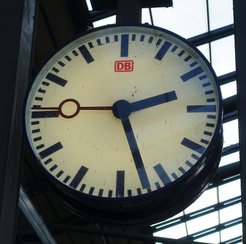 Germany, Deutsch Bahn, Clock, Railway Clock
