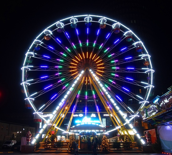 Ferris Wheel, Jena Germany, Christmas Market