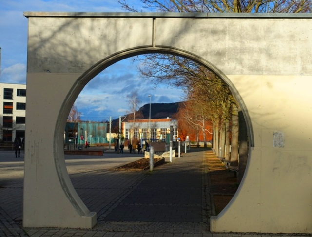Round Gateway, Jena, Germany, Lobeda West