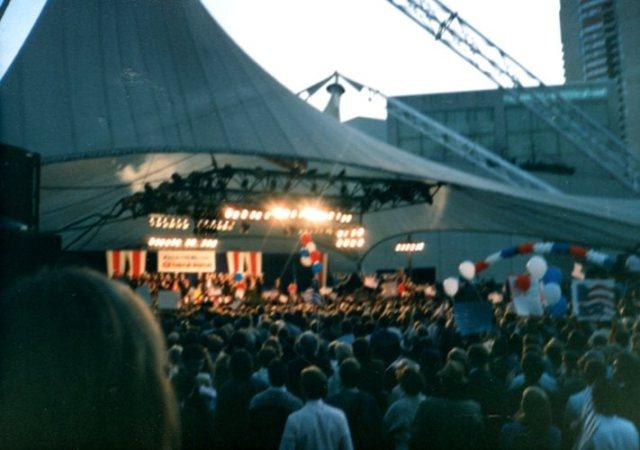 Kansas City Bush Rally, 1988, Bush Memories