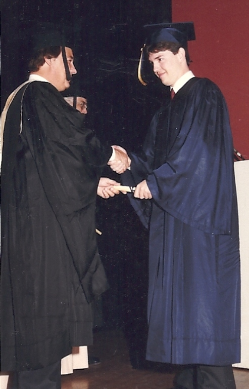 College Graduation, 1988, Remembering George Bush