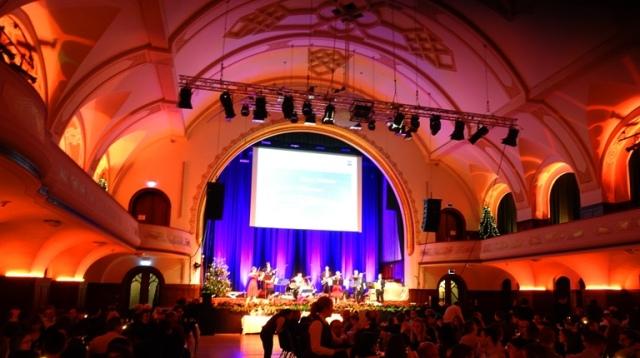 Jena Germany, Volkshaus, Christmas Party