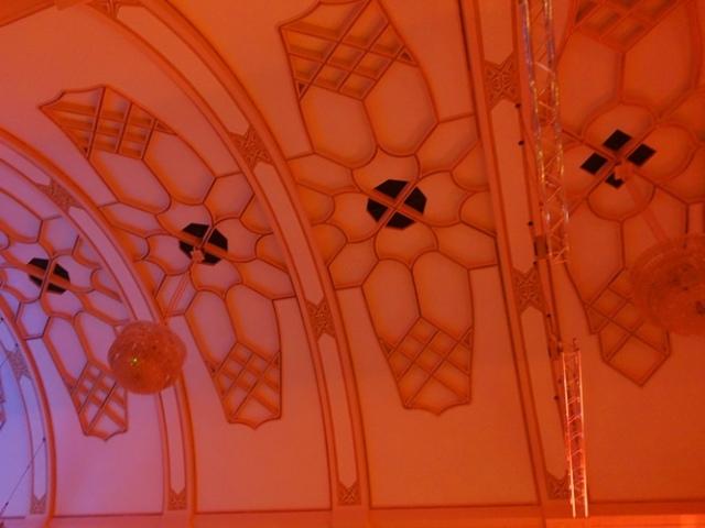 Jena Volkshaus, Jena Germany, Geometrical Designs