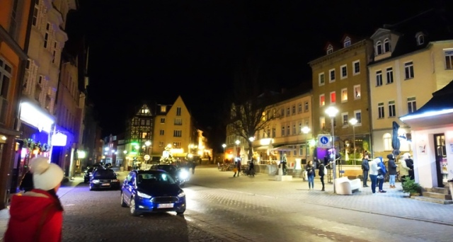Wagnergasse, Jena, Germany, December Night