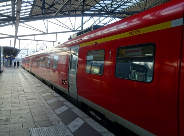 German Regional Train, Erfurt, Germany