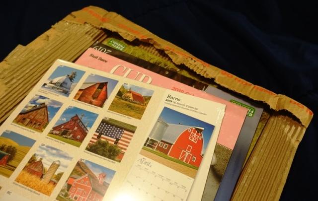 2019 Calendar Order, calendars.com, barns, new year