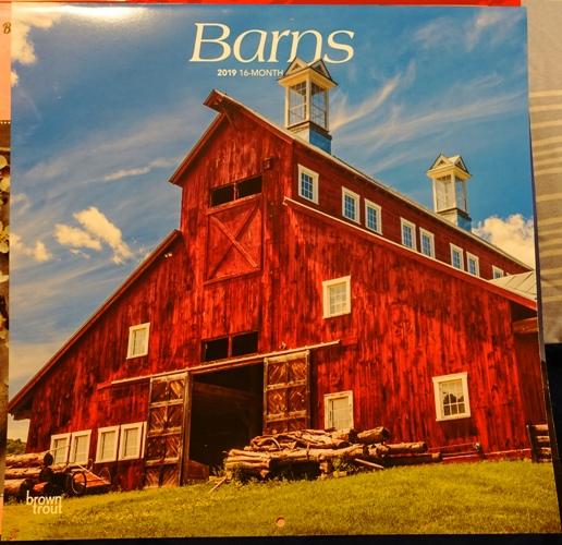 Barns Calendar, 2019 Calendars, Red Barn