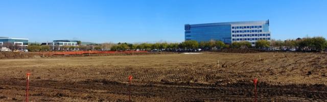 Zeiss Innovation Center, Dublin, California, Construction, Building footprint