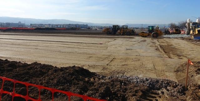fine grading, leveling the site, soil compaction, construction
