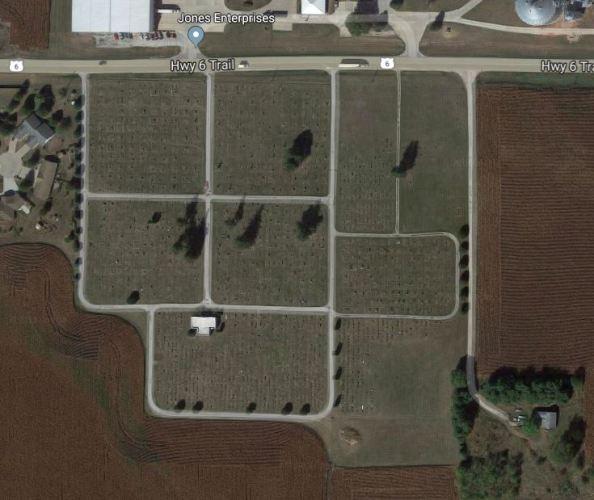 Marengo Iowa, Cemetery, Jeremiah Row