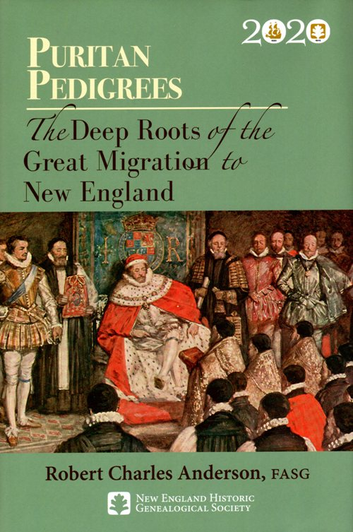 Pilgrim Pedigrees, Migration, Deep roots, robert charles anderson
