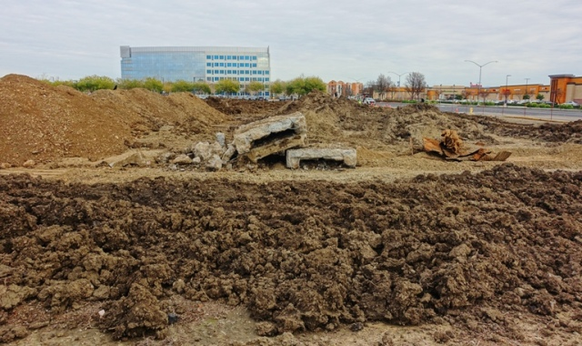Site Clearing, Construction process, grading