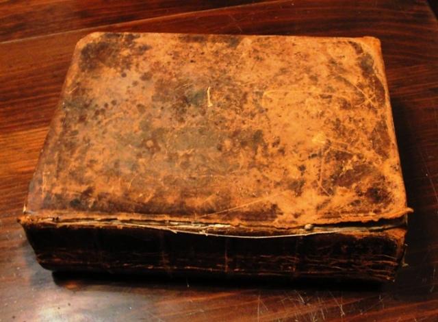 Thomas Cochran, Family Bible, Old Bible, 4th Great Grandfather