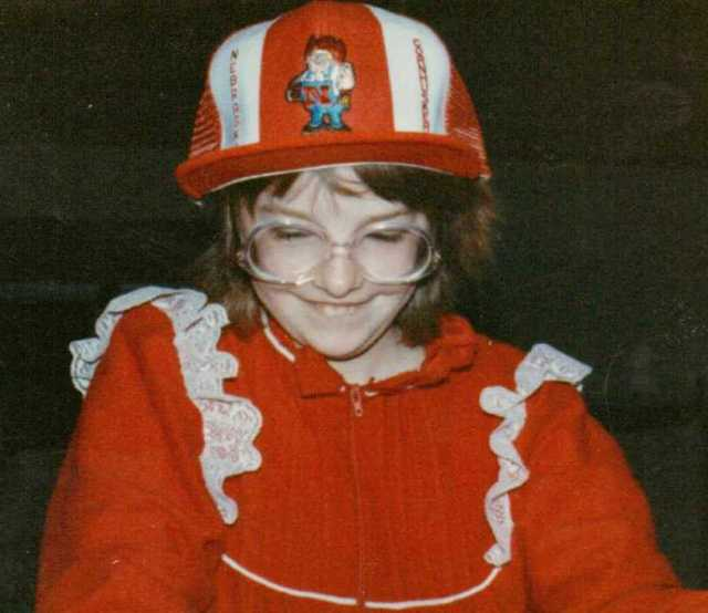 Nebraska Fan, Little sister, nebraska cornhuskers, all in red