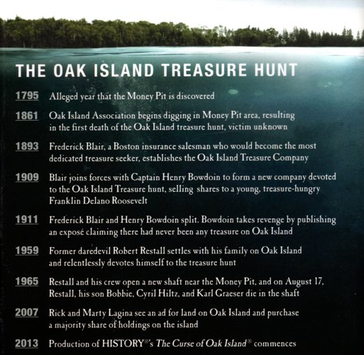 The Curse of Oak Island | Braman's Wanderings