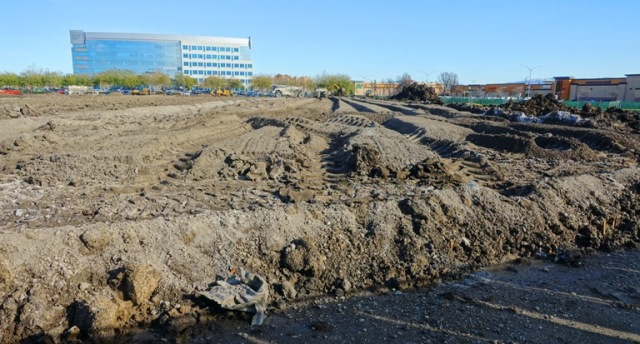 Foundation, dirt work, lime, ground prep
