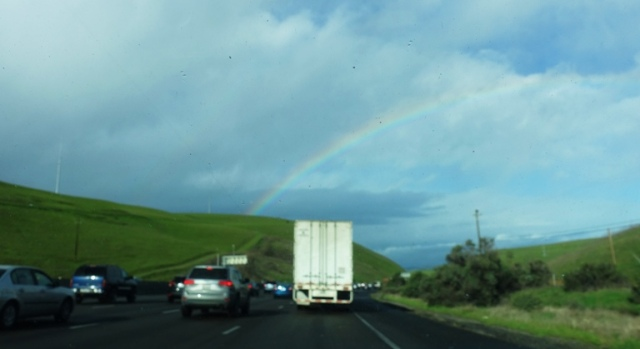 Rainy Thursday, Rainbow, Altamont, Green Hills