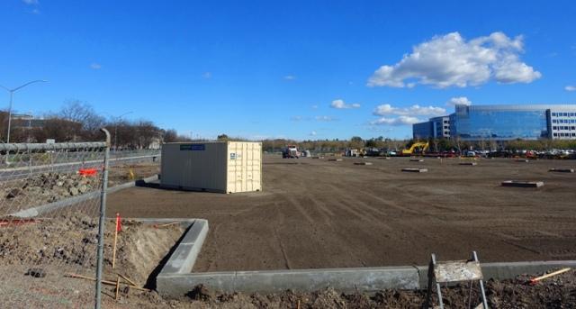 Parking lot,  Construction