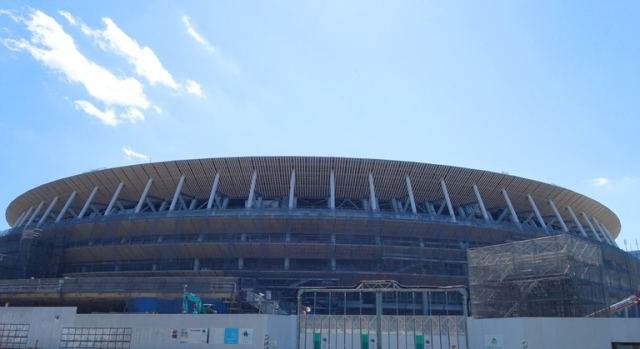 Tokyo 2020, Olympic Stadium, Construction, Tokyo