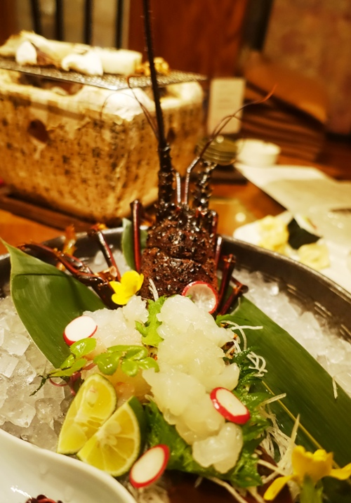 Spiny Lobster, lobster sushi, Japanese Cuisine, Food