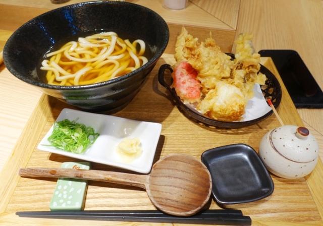 udon noodles, tempura, Japanese Food, Cuisine