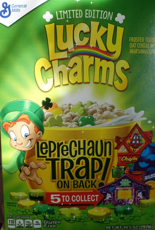 Lucky Charms, Special edition, cereal, St. Patrick's Day