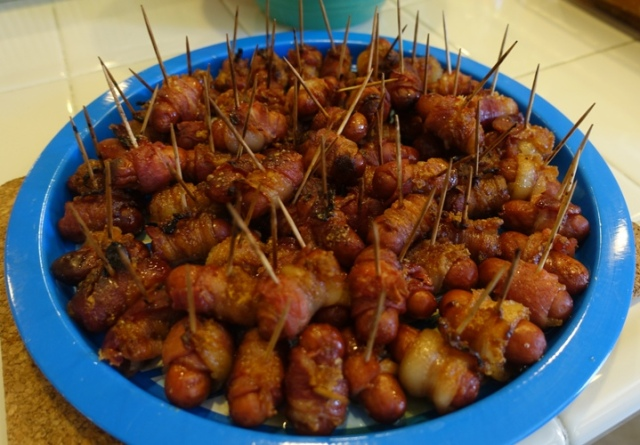 Finger Food, Potluck, pork, bacon
