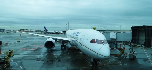Boeing 787, dreamliner, SFO to HND, flight