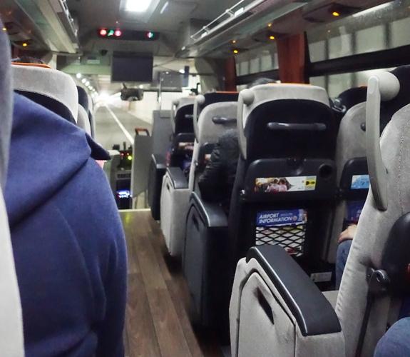 Limousine Bus, Haneda, Japan, Tokyo, Hotel Bus