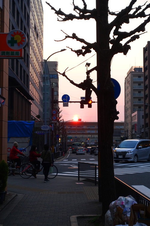 Sunset, Kyoto, Long Day