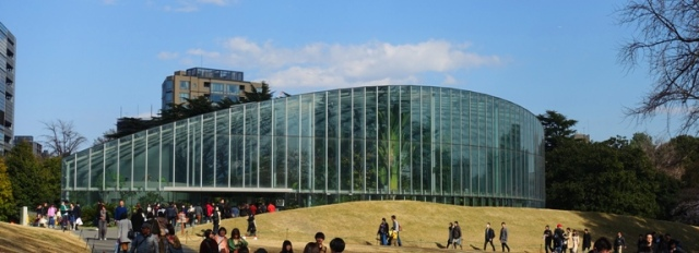 Shinjuku gyoen, greenhouse, gardens, horticulture