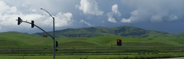 Patterson Hills, Green Hills, winter, central valley california