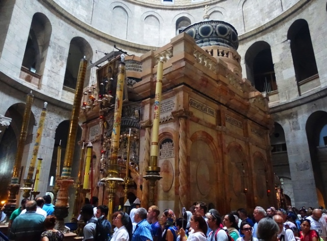 Edicule of the Holy Sepulcher, Jerusalem, Church, He is Risen