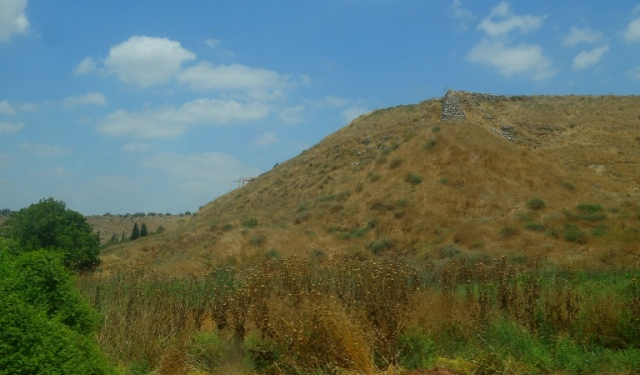 Tel Lachish, Wall, Dump Structure, Rehoboam Wall, Archaeology
