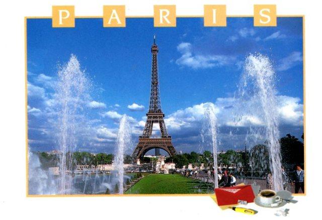 Paris, Eiffel Tour, la Tour Eiffel, memories