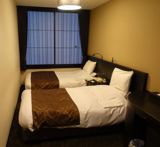 Kyoto Tower Hotel, Japanes Hotel Rooms