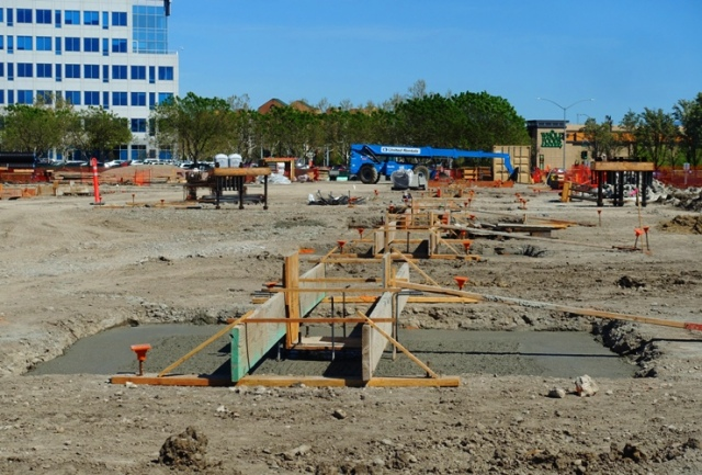 Zeiss Innovation Center, Footings,Construction, Dublin, California