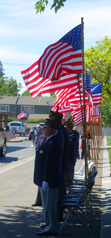 Memorial Day, Flags, Tracy California, Cemetery