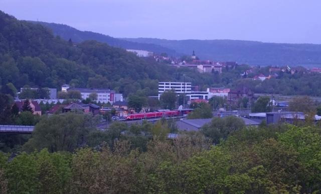 Jena, Goschwitz, train station, Germany