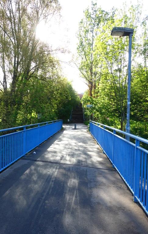Jena, Germany, Bridge, pedestrian bridge