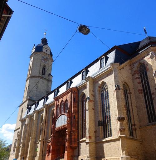 Stadtkirche St. Michael, Jena Germany, churches, germany
