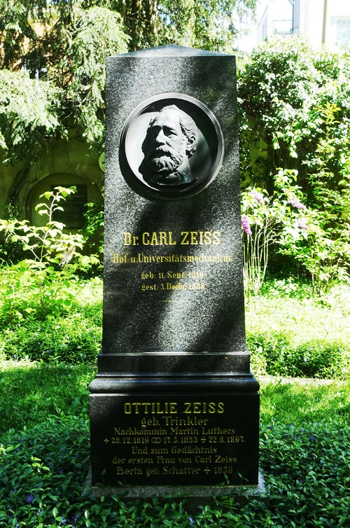 Zeiss Grave Stone, Jena, Germany, History, Founder, Zeiss