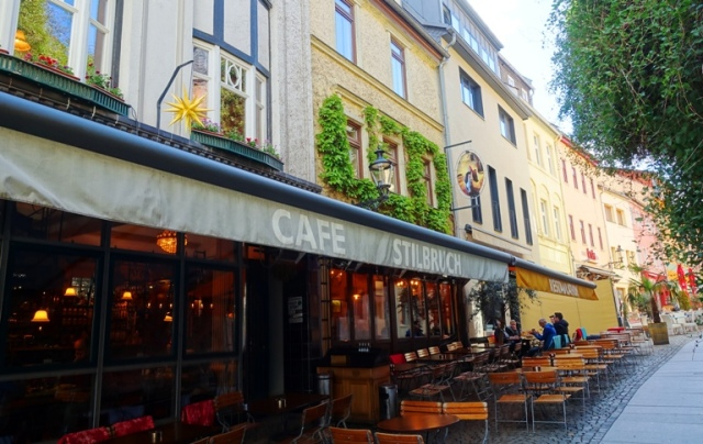 cafe stillburch, wagnergasse, jena, germany