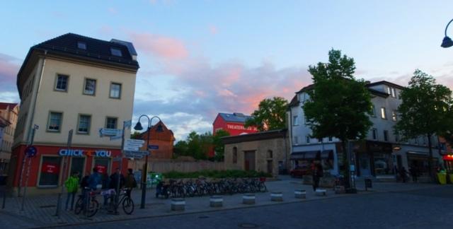 Jena germany, sunset, germany, sky