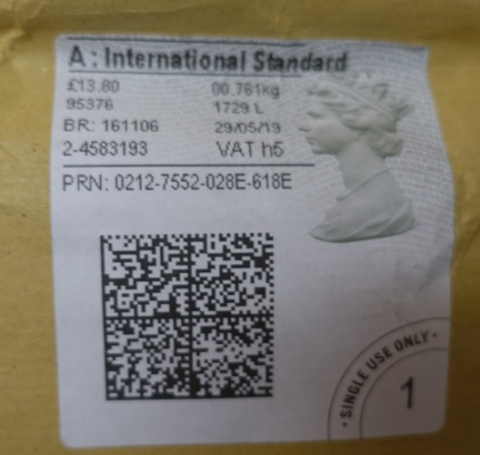 UK Stamp, UK Postmark, Book