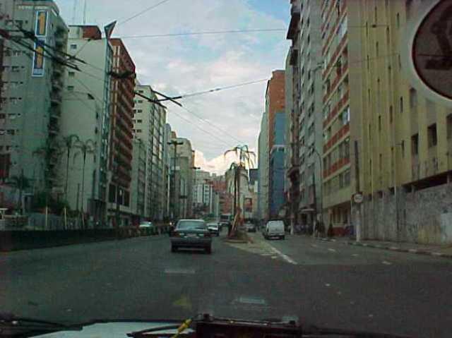Sau Paulo, brazil, streets, buildings