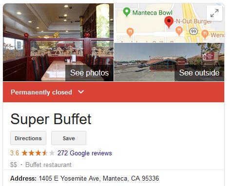 super buffet, manteca, california, chick-fil-a